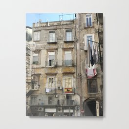 Apartments in Naples Metal Print