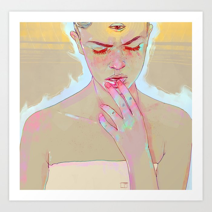 ?'s Art Print