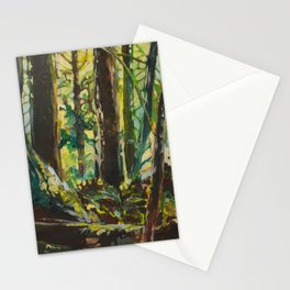 Evergreen Forest Stationery Cards