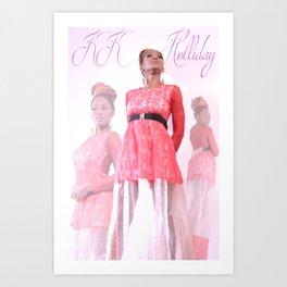 Queen KK Holliday Art Print