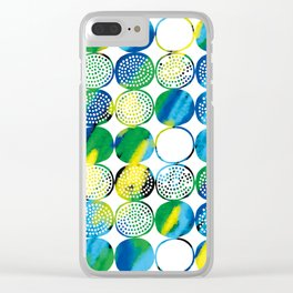 Dot, dot,dot! Clear iPhone Case