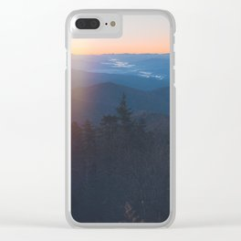 Sunrise in Smoky Mountains National Park Clear iPhone Case