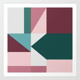 Modern Geometric 62 Art Print