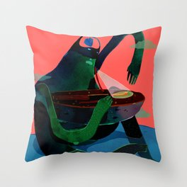 revive man Throw Pillow