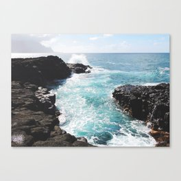 Kauai Tidal Pool Canvas Print
