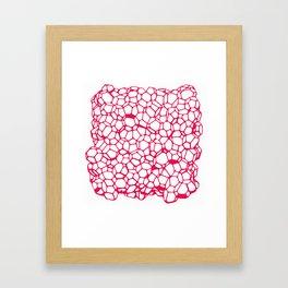Random Foam (Cranberry's Cousin) Framed Art Print
