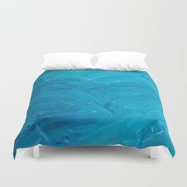 Blue Swipes Duvet Cover