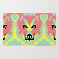 The Pack of Modular Wolves Rug
