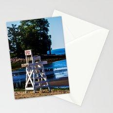Life guard off duty - enjoy the beach Stationery Cards