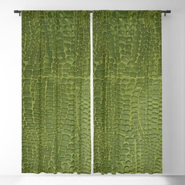 Alligator Skin Blackout Curtain