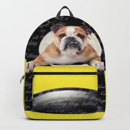 Hey Bulldog! Backpack