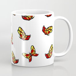 Multicolored butterflys Coffee Mug