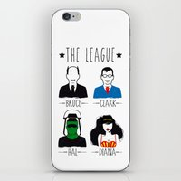 league iPhone & iPod Skins featuring THE LEAGUE by kravic