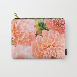 Coral Dahlias 06 Carry-All Pouch