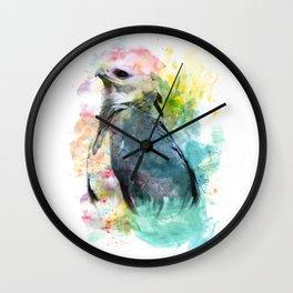 Watercolor Harpy Wall Clock