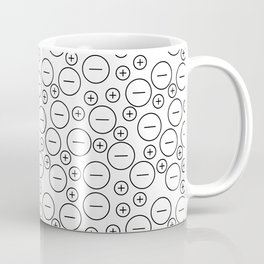 Anions and cations in motion Coffee Mug