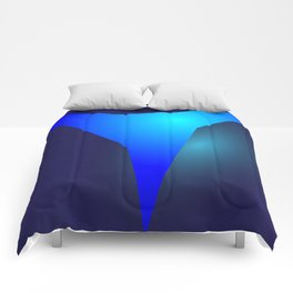 the blue ever Comforters