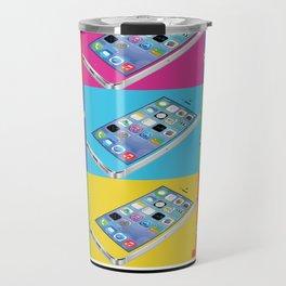 Iphone Therefore I AM Travel Mug