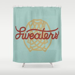 Sweaters Shower Curtain