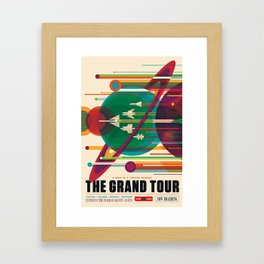 Grand Tour NASA Travel Framed Art Print