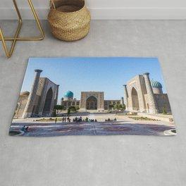 Registan square in Samarkand Rug