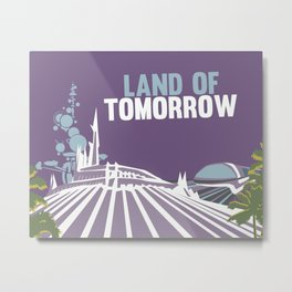 land of tomorrow Metal Print