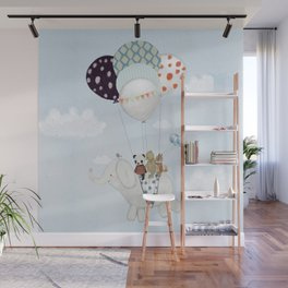 little skies Wall Mural
