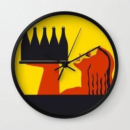 Bottle-eau Wall Clock