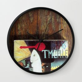 The Art of Reading Wall Clock