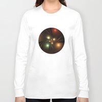 lights Long Sleeve T-shirts featuring Lights by Klara Acel