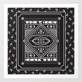 TIDES // TURN Art Print