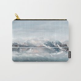Sunken Snow Carry-All Pouch