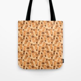 Snare a Rabbit Tote Bag