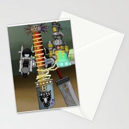 Fusion Keyblade Guitar #116 - Fenrir & Buster Sword Stationery Cards