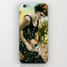 Persephone and the Bees_blue iPhone & iPod Skin