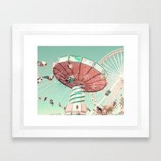 Fun Has Just Begun Framed Art Print