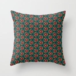 Lonely Petunia Throw Pillow