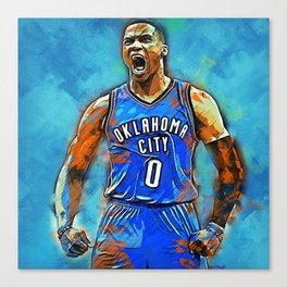 Oklahoma City 0 Canvas Print