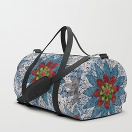 Marble Quilt Duffle Bag