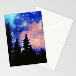 The Galaxy Above Us Stationery Cards