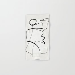Abstract line art 6 Hand & Bath Towel