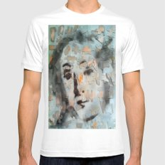 PUZZLED VENUSIAN FACE  Mens Fitted Tee MEDIUM White