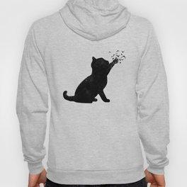 Poetic cat Hoody