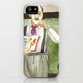 Don Pello Merced iPhone Case
