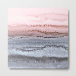 WITHIN THE TIDES - SCANDI LOVE Metal Print