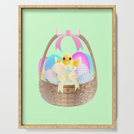 """Easter Chick"" Serving Tray"