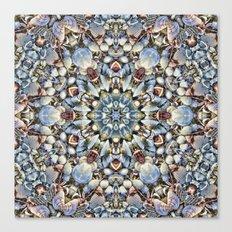 Seashell Kaleidoscope Canvas Print