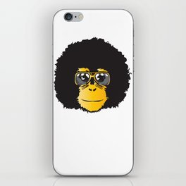 Monkey Retro iPhone Skin