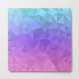 Jewel Tones - Flipped Metal Print