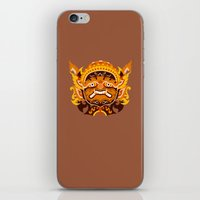 iron giant iPhone & iPod Skins featuring GIANT by toprock
